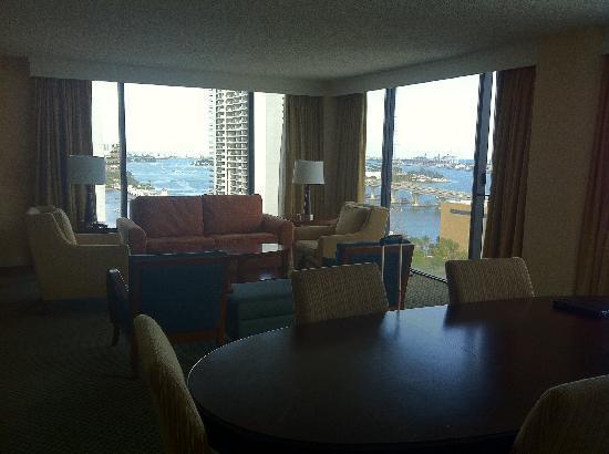 living room  Picture of Hilton Miami Downtown Miami