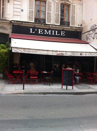 Les Petits Plats D émile : petits, plats, émile, Terrasse, Picture, Petits, Plats, D'Emile,, Paris, Tripadvisor