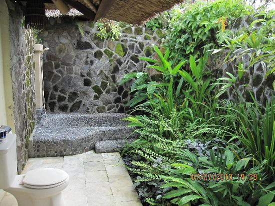 Lovely Outdoor Bath Area Picture Of Royal Villa Jepun