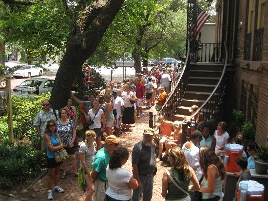 Photos of Mrs. Wilkes' Boarding House, Savannah