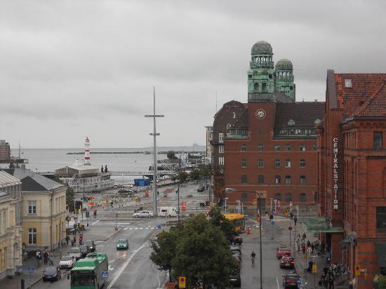 Hotel Savoy Malmo (veduta porto)