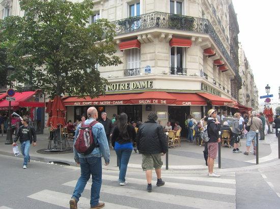 Aux Tours Notre Dame Paris  le de la Citle SaintLouis  Restaurant Avis Numro de