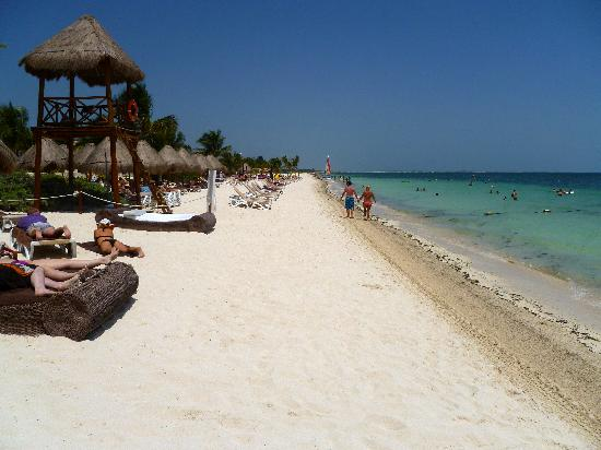 Beach Picture Of Excellence Playa Mujeres Playa Mujeres