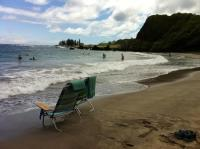 beach chairs in the water, most beautiful beach - Picture ...