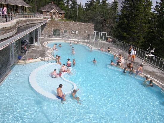 Banff Upper Hot Springs Alberta Hours Address Spa