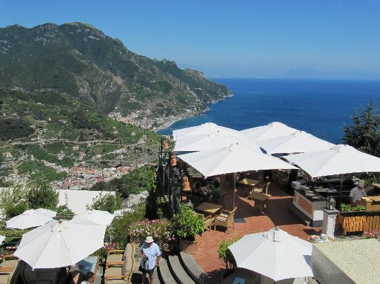 View over the Terazza  Picture of Terrazza Belvedere Ravello  TripAdvisor