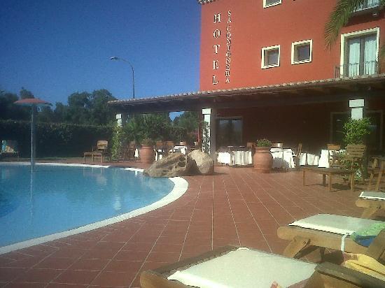 Lato Piscina Picture Of Hotel Sa Contonera Tortoli