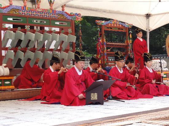Images of Jongmyo Shrine, Seoul