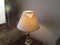 broken lamp shade - Picture of Atlantic House ...