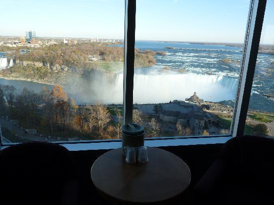 View of Canadian Falls from room fotografa de Oakes