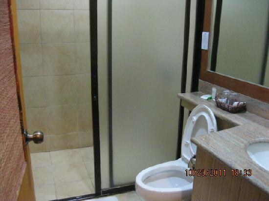 small bathroom  Picture of Java Hotel Laoag  TripAdvisor