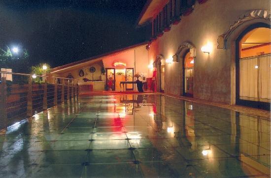 Terrazza in vetro sospesa sullacqua  Foto di Ristorante da Domenico Spresiano  TripAdvisor