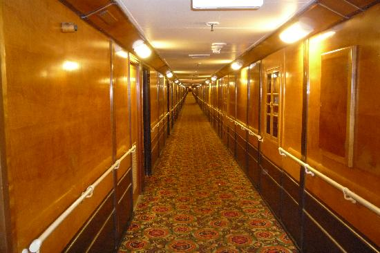 Arch A deck hall corridor  Picture of The Queen Mary Long Beach  TripAdvisor