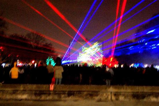 The Very Cool Lazer Light Show Picture Of Brookfield Zoo Home Design Ideas