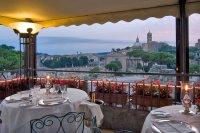 Ristorante Roof Garden - Picture of Hotel Forum Roma, Rome ...