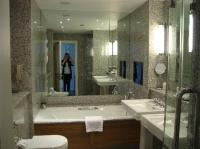 Nice bathroom - looks better in real life than in photo ...