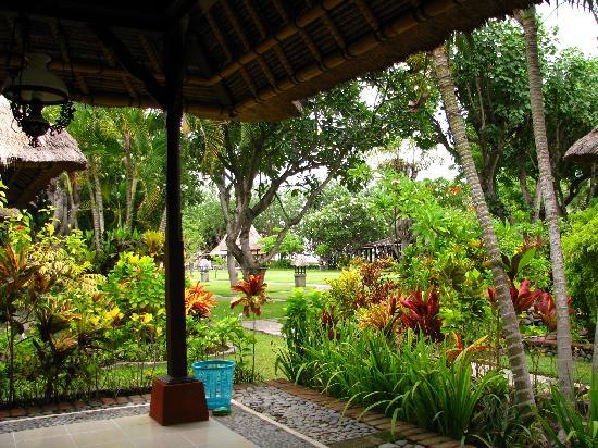 Von Der Terrasse Photo De Taman Sari Bali Resort & Spa