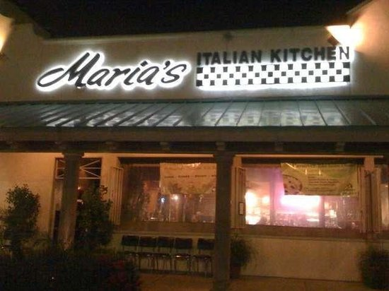 Marias Italian Kitchen Pasadena  Menu Prices