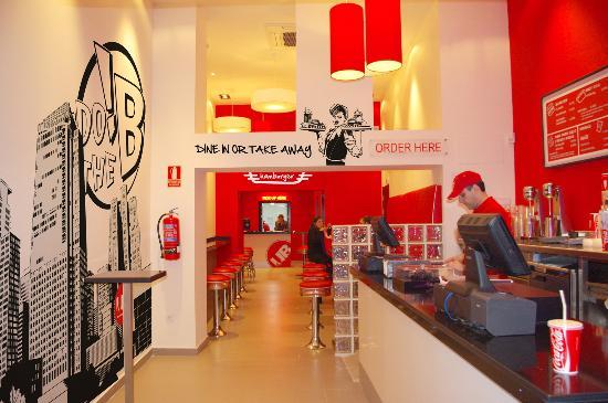 Patatas al horno  fotografa de Urban Diner Madrid