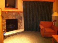 Fireplace in loft suite - Picture of Great Wolf Lodge ...