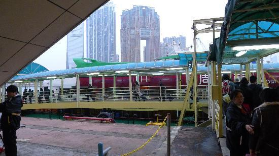 Seat assignment prior to immigration at HK-China Ferry Terminal - Picture of First Ferry. Hong Kong - Tripadvisor