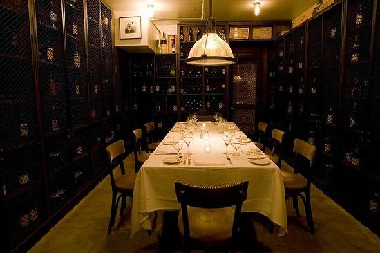 Private Dining Room Wine Cellar  Picture of Aretskys Patroon New York City  TripAdvisor