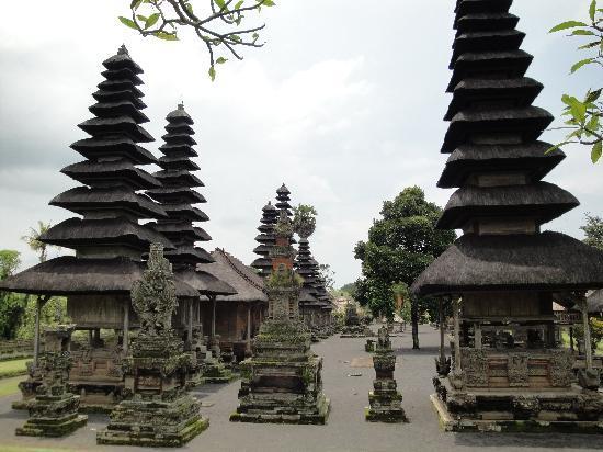 Pura Taman Ayun: from behind the temple
