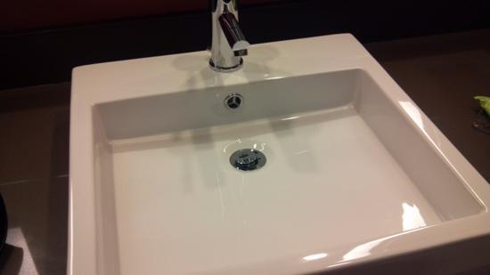 fancy bathroom sink  Picture of Radisson Hotel Salt Lake