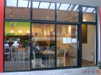 Glass front - much light - Picture of Passione Italian ...