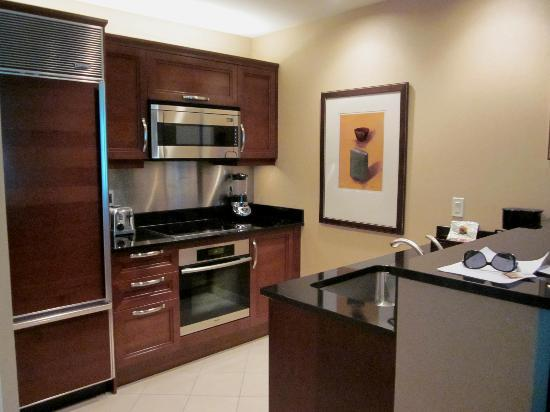 hotels with kitchens in vegas mexican style kitchen decor - 1 bedroom suite picture of signature at mgm ...