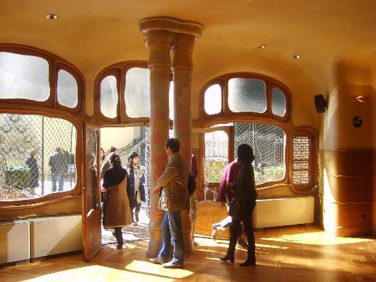 the dining room  Picture of Casa Batllo Barcelona