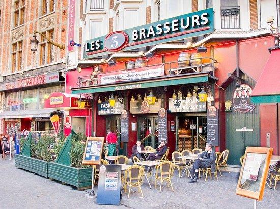 Les 3 Brasseurs Lille Place De La Gare Restaurant