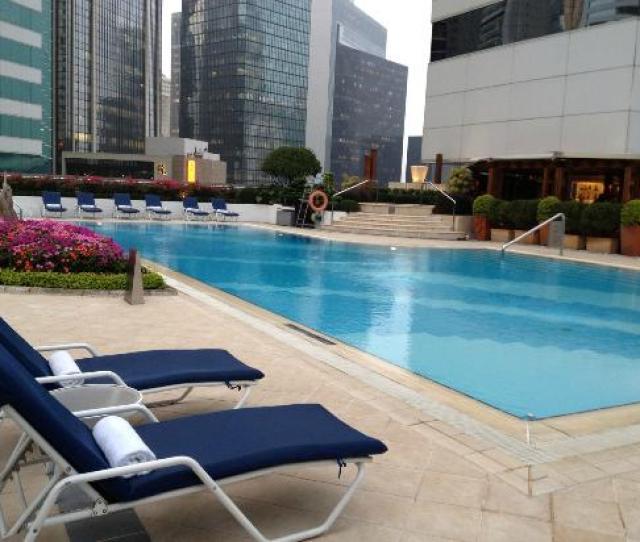 Pool Picture Of Jw Marriott Hotel Hong Kong Tripadvisor