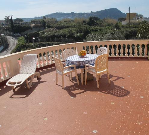 terrazza  Picture of Residence Villa Marinu Forio