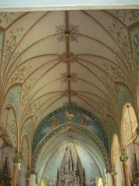Ceiling of High Hill church - Picture of Painted Churches ...