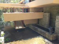 Steps from living room to the river plus plunge pool ...