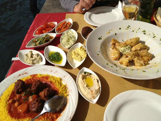 Foto de Gam Gam Kosher Restaurant Venecia Entremeses
