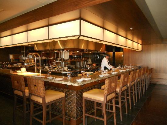 Open kitchen counter seatng  Picture of Jory Restaurant