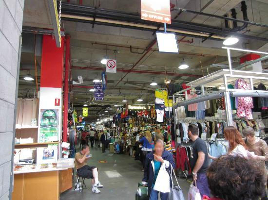 Busy Shopping In Paddys Market Picture Of Sydney New