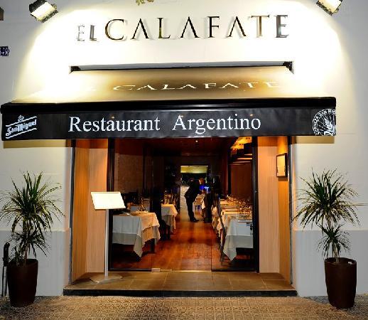 Restaurante argentino El Calafate Barcelona  Restaurante