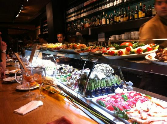 Tapas Restaurant Barcelona Spain