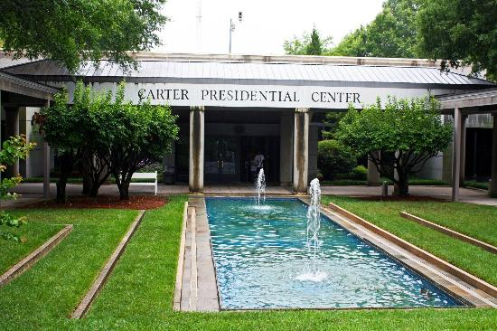 Front of the Carter Library - Picture of Carter Center, Atlanta ...
