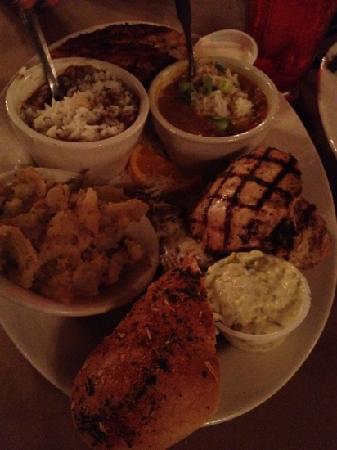 Cajun food plate  Picture of Kings Palace Cafe Memphis  TripAdvisor
