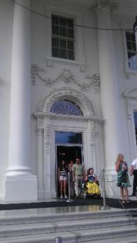 White House Front Door! - Picture of White House ...