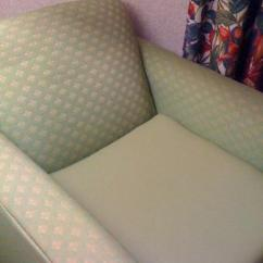 Chair Cover Rentals Findlay Ohio Pink Side Dirty With Fake Leather Seat Covering Gross Picture Of Holiday Inn Express