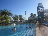 Bay Lake Tower from the pool - Picture of Bay Lake Tower ...