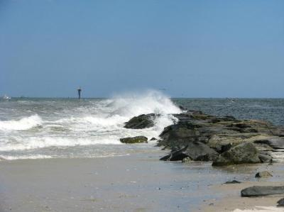 Almost high tide... - Picture of Island Beach State Park ...