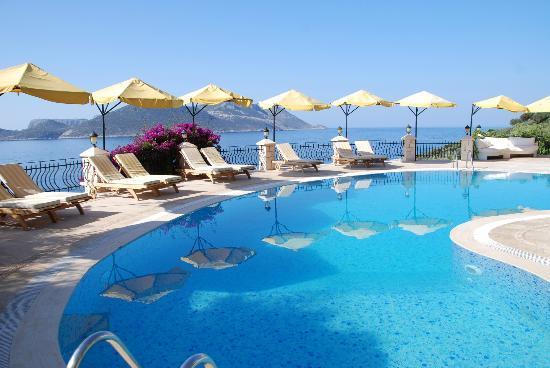 The Salt Water Pool Picture Of Villa Hotel Tamara Kas