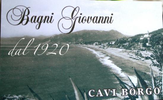 Storia  Foto di Bagni Giovanni Ristorante Cavi  TripAdvisor