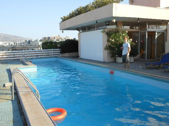 Rooftop Pool Picture Of The Stanley Athens Tripadvisor